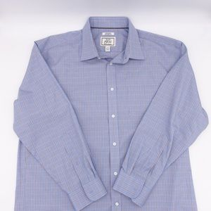 Jos A Bank 1905 Tailored Fit Check Shirt